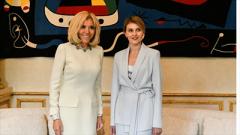 Первая леди Украины встретилась с Брижит Макрон в Елисейском дворце