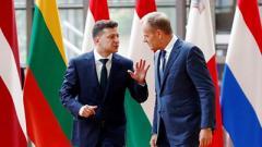 Сегодня Зеленский и Туск посетят Донбасс