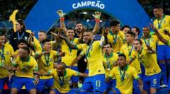 Бразилия в 9-й раз выиграла Кубок Америки (ВИДЕО)