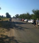В соцсети показали очередь к КПП «ДНР» перед Седово