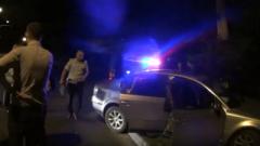 В Луганске подросток на авто влетел в столб