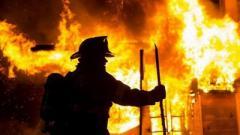 В ОРДО горел известный супермаркет: серьезные повреждения