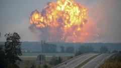 «Апокалипсис в Горловке»: очевидцы сообщают о «ядерном грибе» после взрыва
