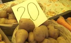 Названа причина взлета цены на картошку