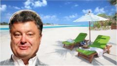 Украинцы бурно обсуждают открытие дела против Порошенко из-за полета на Мальдивы