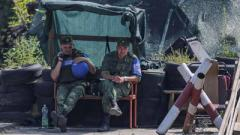 Журналист показал провокационные фото членов НВФ из Станицы Луганской