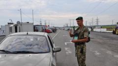 Ситуация на КПВВ Украины: на «Гнутово» небольшая очередь
