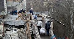 В Станице Луганской построят временный обходной мост
