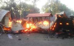 В Кривом Роге дотла сгорела церковь МП