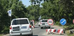 Наблюдатели СММ ОБСЕ попали под обстрел в поселке Пикузы, подконтрольном  боевикам