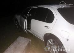 На блокпосту под Мариуполем полицейский получил травмы при задержании пьяного водителя