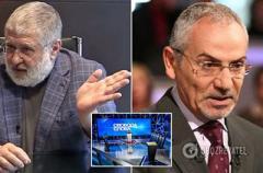 Громкий скандал: Коломойский и Шустер сцепились в прямом эфире
