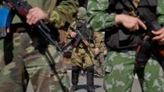 «Усиленные патрули с необычными шевронами»: дончане сообщают об активности НВФ в центре города