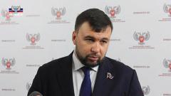Пушилин не собирается отдавать Украине контроль над границей на Донетчине
