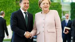 Зеленский и Меркель провели телефонный разговор