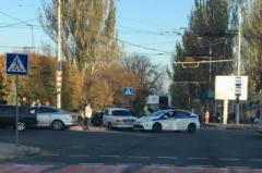 В центре Донецка произошло ДТП с участием боевиков «ДНР»