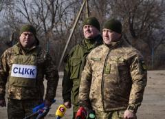 Українські і зарубіжні ЗМІ відвідали ділянку розведення поблизу Золотого