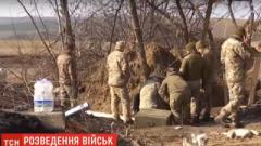 Украинские военные оборудуют новые позиции на Донбассе. ВИДЕО