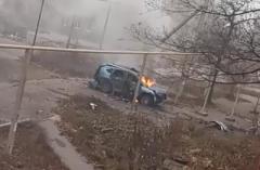 В оккупированном Торезе взорвали местного бизнесмена (ВИДЕО)