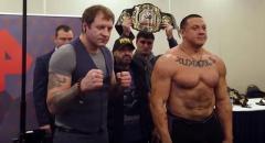 Сегодня состоится скандальный поединок Емельяненко - Кокляев
