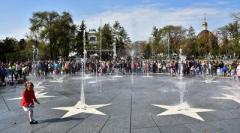 В Мариуполе фонтан превратят в ледовый каток