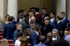 """В Раде подрались двое """"слуг народа"""""""