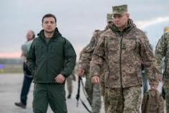 Сегодгя Зеленский посетит Донбасс