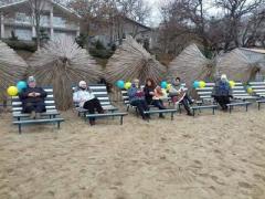 Под Мариуполем открыли новый пляж