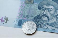 Монета в 5 гривен поступила в обращение