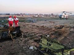 В Иране разбился украинский самолет со 180 пассажирами (ВИДЕО)