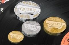 В Великобритании выпустили монеты в честь группы Queen
