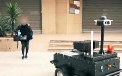 В Тунисе соблюдение карантина контролируют роботы (ВИДЕО)