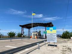 Ситуация в КПВВ на границе с оккупированным Крымом по данным МВД