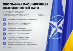 Украина как партнер расширенных возможностей НАТО