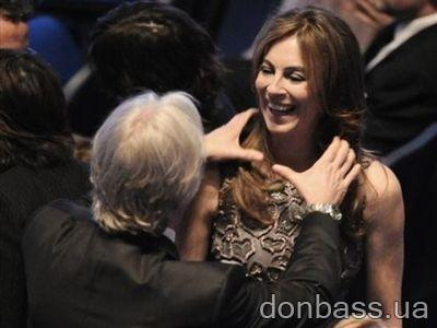 """Ой не зря в самом начале церемонии Джеймс Кэмерон шутливо душил свою бывшую жену Кэтрин Бигелоу: она """"забрала"""" главные награды."""