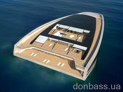 Яхта-остров - роскошный отдых миллиардеров (ФОТО)