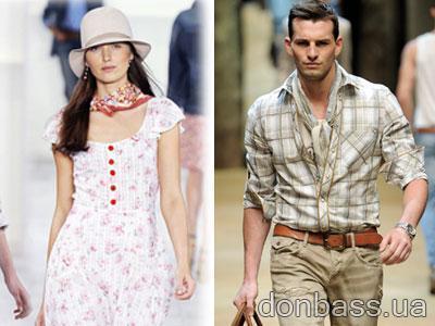 Мужчины станут путешественниками, дамы - фермершами. Популярные образы нового сезона