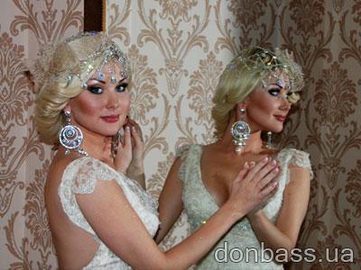 Испанские дизайнеры сшили свадебное платье для Кати Бужинской (ФОТО