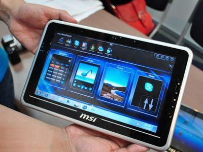 MSI презентовала новый планшетник (ВИДЕО)