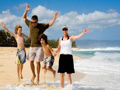 Не разрывайте семейный круг в отпуске!