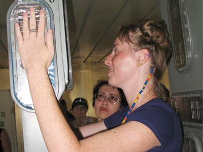 Прежде чем выпустить с территории ЧАЭС, корреспондента «Донбасса» проверили на радиоактивность.