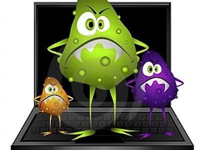 Virus Informatique Logo D'un Virus Informatique