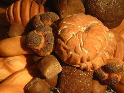 Италия, неаполь, хлеб