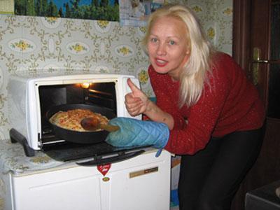 Кристина Дымченко: «Аромат у нашей лазаньи - во-о-от такой!»