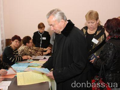 Мэр Донецка проголосовал за стабильность