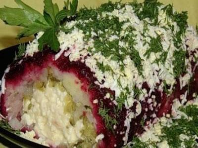 На праздничный стол готовим салат с