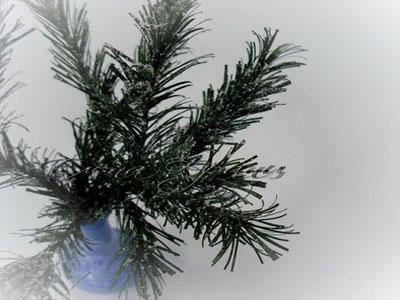 Новый год-2011. Украшение из бумаги - еловые веточки: мастер-класс (ФОТО)