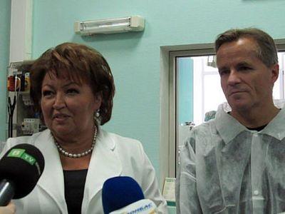 В Донецк прибыл главный кардиохирург Швейцарии