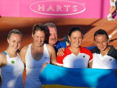 Украинские теннисистки обыграли австралийских