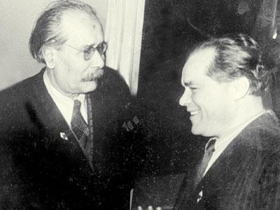 Павел Беспощадный и Леонид Жариков дружили всю жизнь.